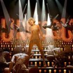 Christina Aguilera in Burlesque movie still