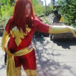 Jaimmie Que as Dark Phoenix. Photo by Ally McGillivray