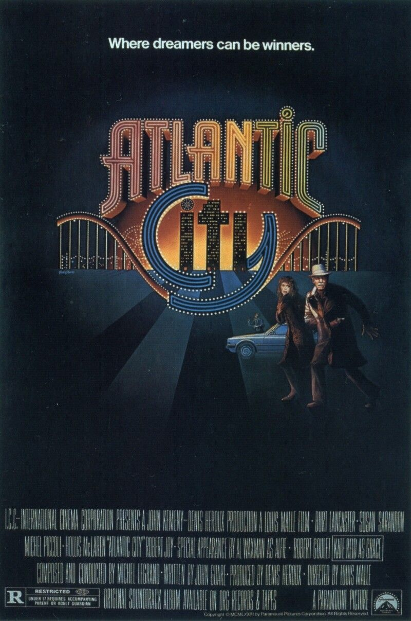 Atlantic City movie poster