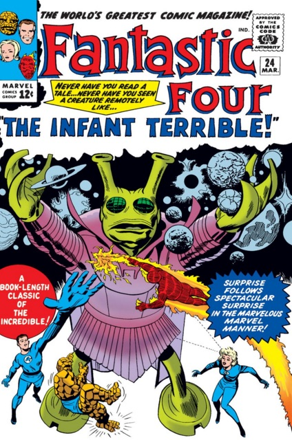 Issue # 24 of the Fantastic Four - a series low point, or high? it's a thin line.